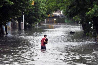 La otra cara de las inundaciones: se ejecutó menos de la mitad del Presupuesto destinado a prevenirlas