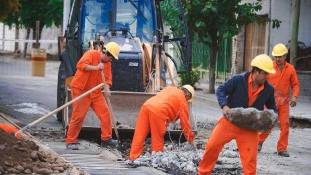 Cronograma de la obra de desagües en avenidas Alem e Italia