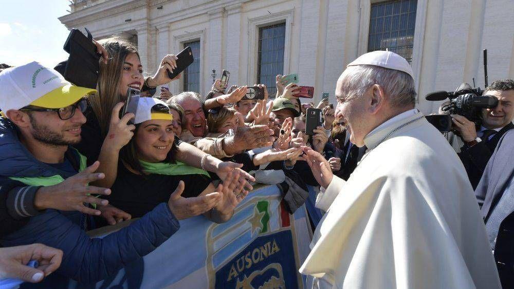 """Catequesis del Papa: """"Caminemos siempre como hijos de la luz"""""""