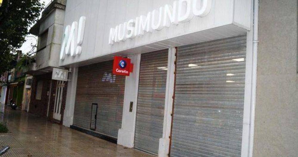Musimundo ya cerró 10 locales y despidió a todo el personal