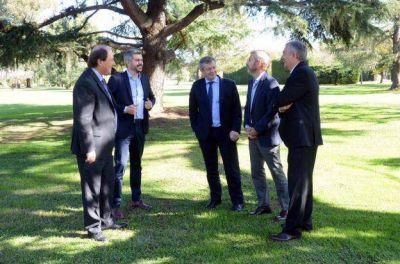 La política siempre vuelve: Sanz y Monzó regresaron a Olivos