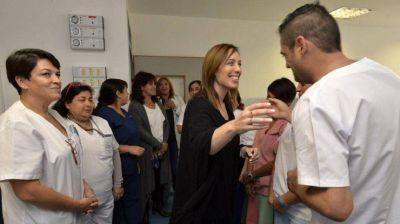 Vidal anunciará una fuerte baja en la mortalidad infantil y materna en la Provincia