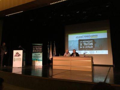 Unión Ferroviaria organizó un encuentro de jóvenes del sector