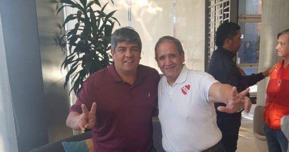 Pablo Moyano y Palazzo ratificaron su candidatura conjunta a conducir la CGT