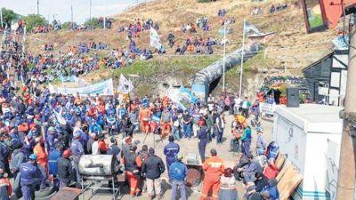 La resistencia rindió frutos en Río Turbio