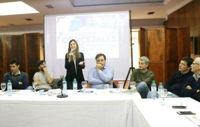Sesenta concejales peronistas de la Quinta Sección debatieron en Mar del Plata