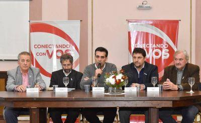 López firmó un convenio marco de cooperación y asistencia con Obras Sanitarias Sociedad de Estado