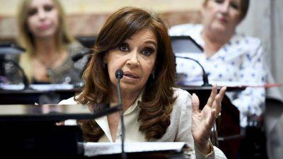 Cristina Kirchner avisó que no será candidata en 2019, salvo que...