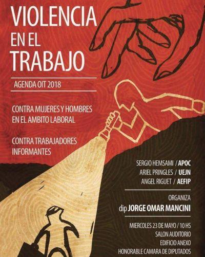 """Agenda OIT 2018: Jornada sobre """"Violencia en el Trabajo"""""""