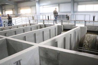 Planta potabilizadora: El Municipio de Río Grande continúa garantizando el avance de la obra con fondos propios