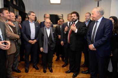 Ministros, embajadores y líderes musulmanes fueron recibidos en el CJL por Ramadán