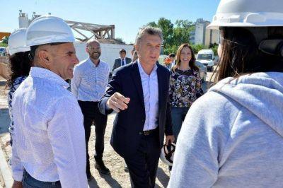 Macri y Vidal inauguran hoy en Bahía Blanca el parque eólico Corti