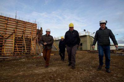 La obra de la Planta Depuradora presenta casi un 40 por ciento de avances