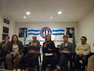 La diputada Cubría presentó en la ciudad el proyecto de ley de Infraestructura Social