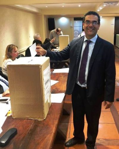 Fabián Portillo fue reelegido en el Colegio de Abogados