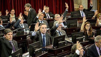 Cuatro senadores del PJ votarán en contra del proyecto opositor