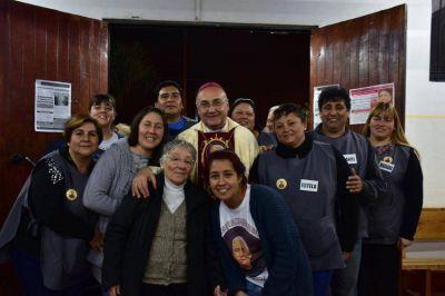 Mons. Fenoy se despide de la comunidad diocesana de San Miguel