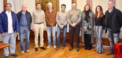 El Intendente presentó al nuevo equipo de Salud