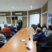 Informaron sobre los proyectos de energía renovable para parques industriales y gas virtual en Goya