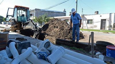 La SAT mejora el servicio de cloacas en el barrio Almafuerte