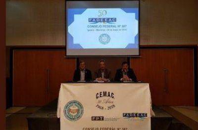 FADEEAC repasó sus acciones en el Consejo Federal 387