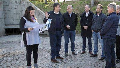 Jorge Macri recorrió, junto a intendentes de Cambiemos, obras hidráulicas realizadas en Vicente López