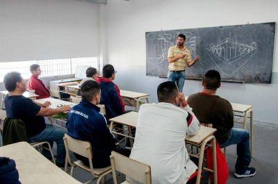 Aumentó la matrícula de estudiantes en penales de la provincia