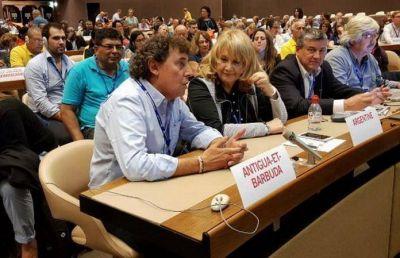 Micheli denunció al gobierno argentino por la persecución a los sindicatos ante la OIT