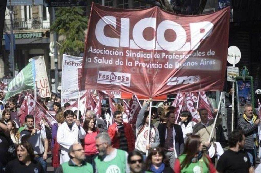 Cicop concurrirá ante la justicia para exigir que la gobernadora Vidal convoque a paritarias
