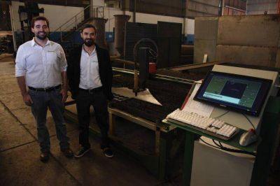 Ingenieros locales desarrollaron una máquina difícil de adquirir en Mendoza