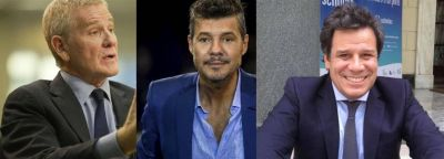 De Narváez, Tinelli y Manes, el trío de