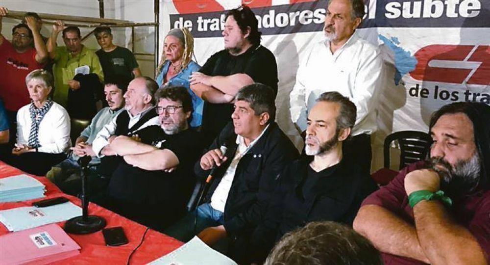 """CGT: Moyano quiere la vuelta de Ctera para sumar votos contra los """"Gordos"""""""