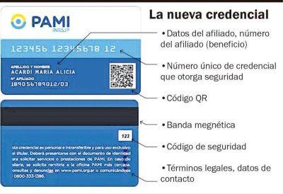 Entregarán desde junio las nuevas credenciales a los afiliados al PAMI