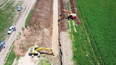 Enrico llamó a la alerta ante el avance de obras hídricas en Córdoba dirigidas a Santa Fe