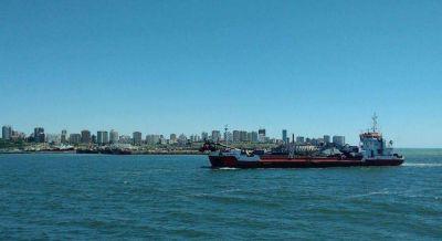 La segunda etapa del dragado del Puerto prevé un nuevo refulado en Playa Grande