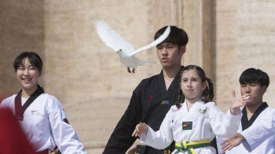 Atletas de las dos Coreas juntos; el Papa: mensaje de paz