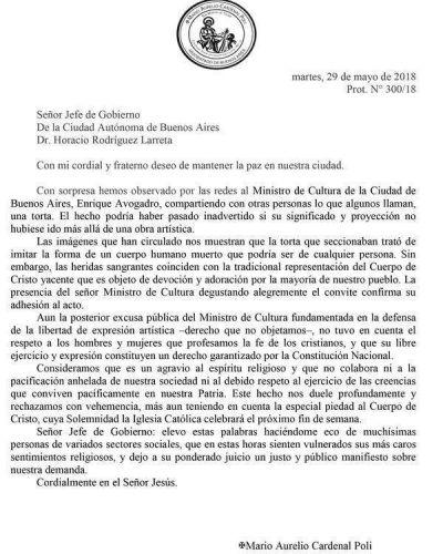 La Iglesia cuestionó el polémico video en que aparece el ministro de Cultura porteño: