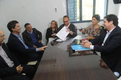 Tras las quejas de la Nación, apuran la planta potabilizadora en los Valles