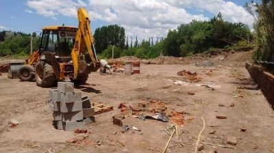 """Felipe Tomasevich: """"Con estas obras más de 600 vecinos de El Volcán no volverán a tener problemas de cloacas"""""""