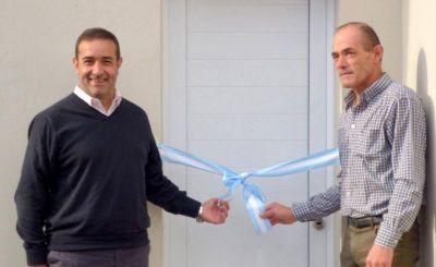Castelli inaguró nuevas dependencias de la planta de reciclados