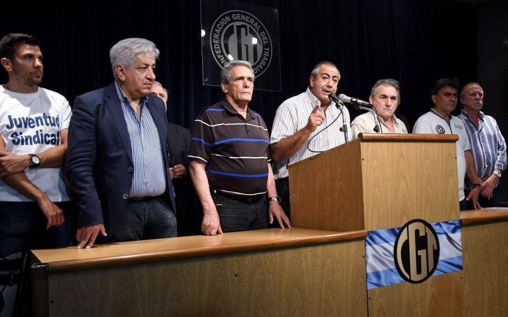 A la espera del veto, la CGT define la reacción con senadores de Pichetto