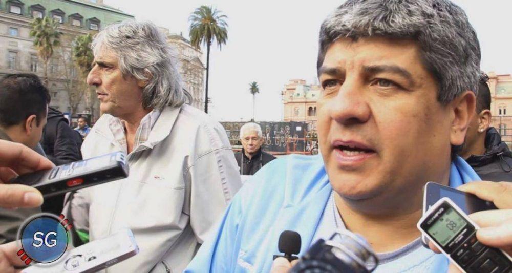 """Pablo Moyano: """"Vamos tener que copiar a los camioneros brasileños si no nos dan el 27%"""""""