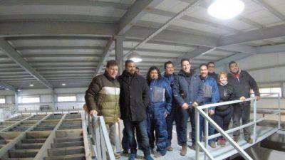Melella puso en funcionamiento la nueva planta potabilizadora de agua