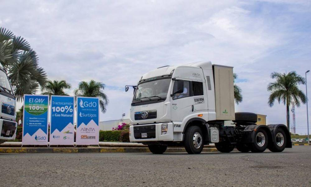 El transporte de carga en Colombia le apuesta al gas natural