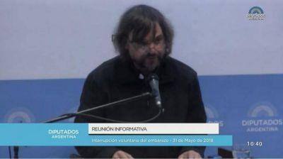 """El padre Di Paola advirtió que el """"genocidio"""" del aborto es promovido por el FMI"""