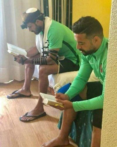 Adir Danin y Muhammad Sarsur, judío y musulmán que juegan y rezan juntos