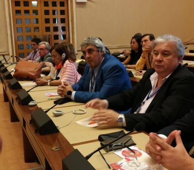 Sergio Romero viajó a la 107ª Conferencia Internacional de la OIT para reclamar por los derechos docentes, sindicales y colectivos vulnerados