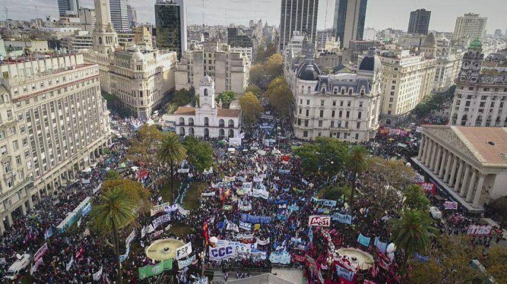 Ya hay acuerdo para hacerle un nuevo paro general a Macri