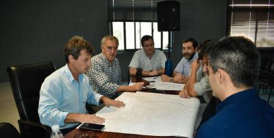 EL GOBIERNO PROVINCIAL AVANZA EN REUNIONES CON EL BID PARA EL SANEAMIENTO DEL RÍO URUGUAY