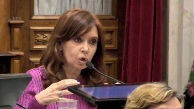 Cristina Kirchner y el PJ: primero sintonía en el Congreso, después la negociación